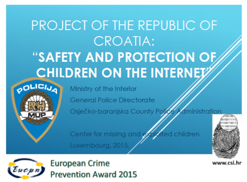 Safety and Protection of Children on the Internet