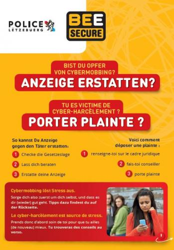 Luxembourg: Are you a victim of cyberbullying?