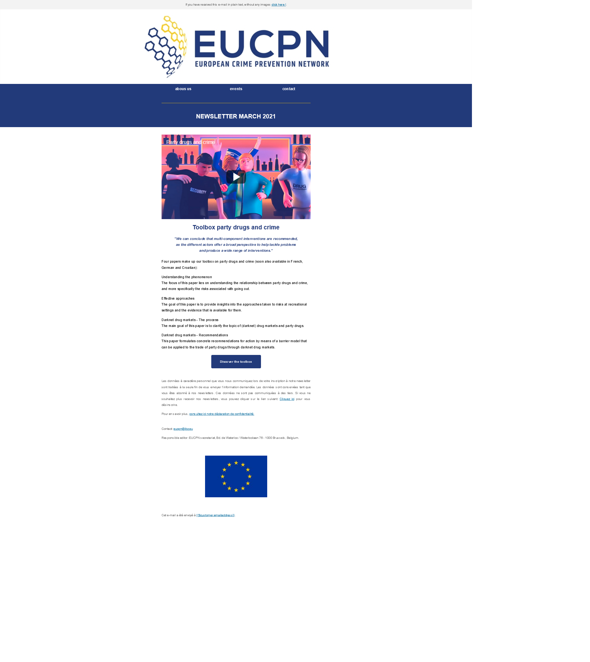EUCPN Newsletter March 2021