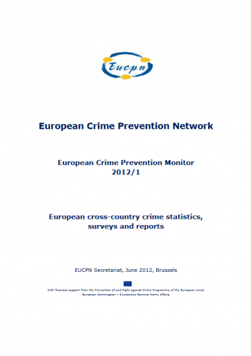 European Crime Prevention Monitor 2012-1