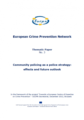 European Crime Prevention Monitor 2013-1