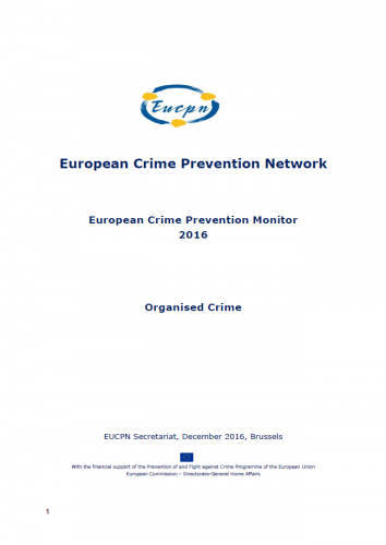European Crime Prevention Monitor 2016
