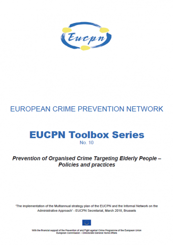 Toolbox 10 - Prevention of Organised Crime Targeting Elderly People - Policies and practices